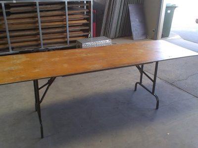 2.4m Wooden Table