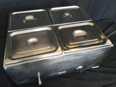 4 Tray Bain Marie