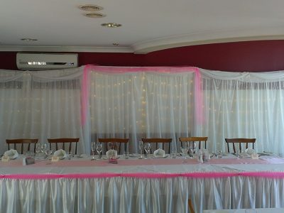 Bridal Backdrop - 2m high x 2m sections - no fairy lights