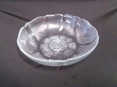 Carly 19cm Glass Bowl