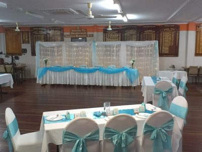 Hall Setup