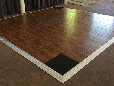 Inside Dance Floor Timber