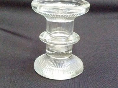 Jacqui - Glass candle holders - small