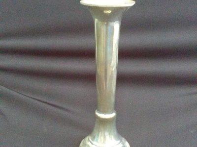 Libby - Silver Bud Vase