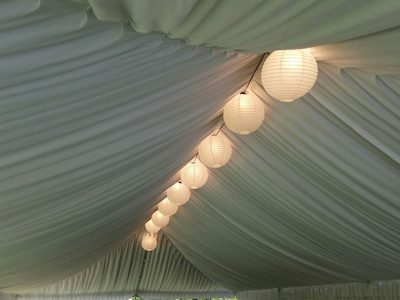 Paper Lanterns in Silk
