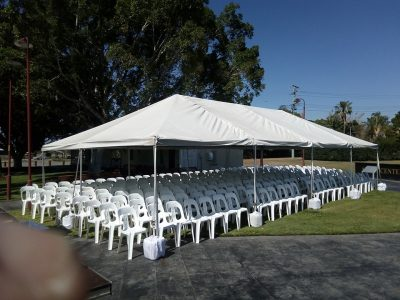 RSL Chairs & Marquee