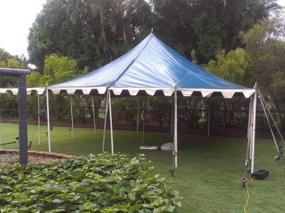 Small Blue Marquee